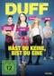 DVD: DUFF - HAST DU KEINE, BIST DU EINE! (2015)